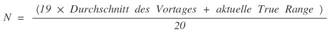 Formel N Faktor
